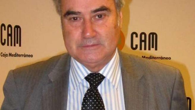 El presidente territorial de CAM, Ángel Martínez