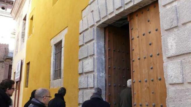 Fachada del Seminario de Nobles de Calatayud