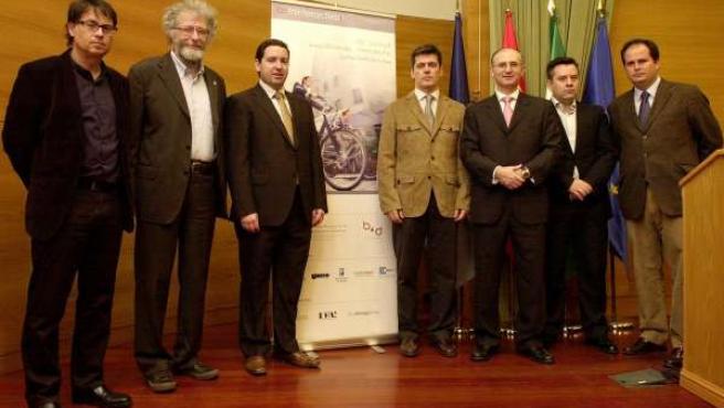 Asistentes a la inauguración de Cominteractiva en Málaga