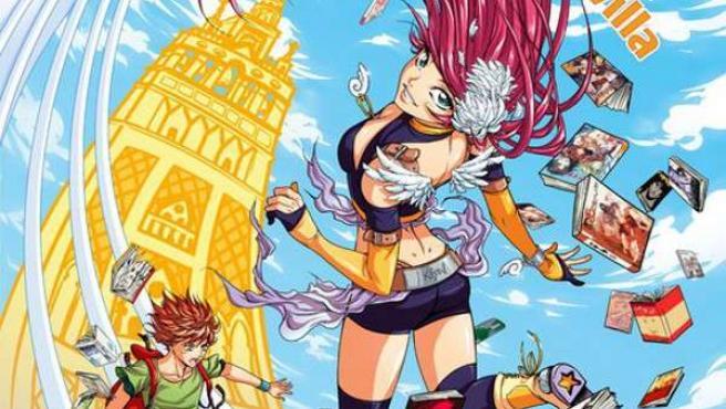 Cartel del IV Salón del Manga que se celebra este fin de semana en el Casino de