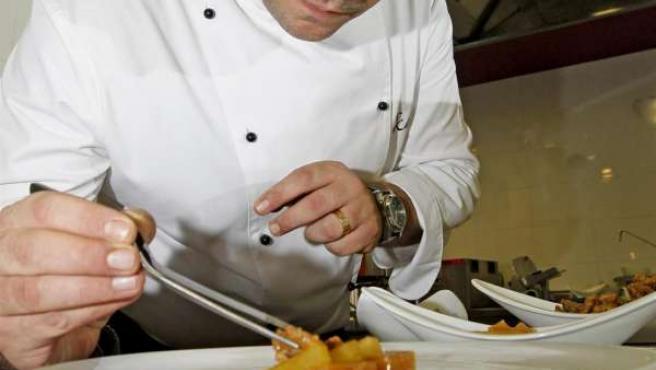El chef valenciano Alejandro del Toro.