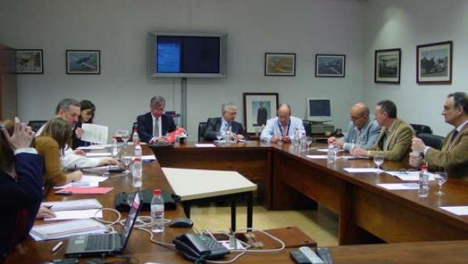 Reunión De La Comisión De Seguimiento Del Plan De Aislamiento Acústico Del Aerop