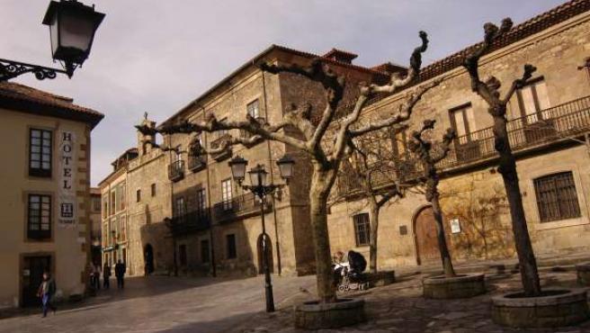 Casa natal de Jovellanos en Gijón (Asturias)