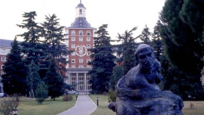 Edificio del Rectorado de la UCM.