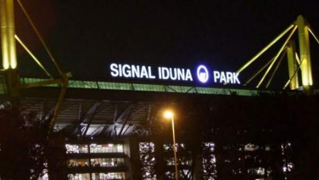 Instantánea del Signal Iduna Park, campo del Borussia de Dortmund.