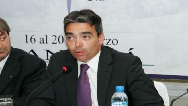 Albert Soler, en una foto de archivo como secretario de Estado para el Deporte.