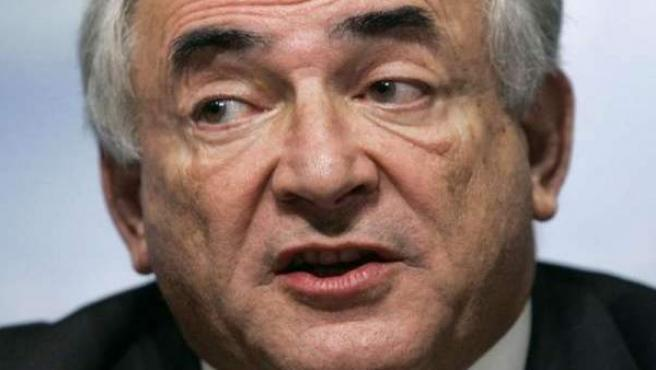 El presidente del FMI, Dominique Strauss-Kahn.