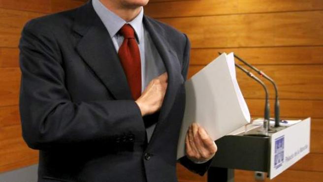 Imagen de archivo del alcalde de Madrid Alberto Ruiz-Gallardón.