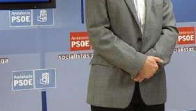 Francisco Conejo, secretario de Organización del PSOE de Málaga y secretario de