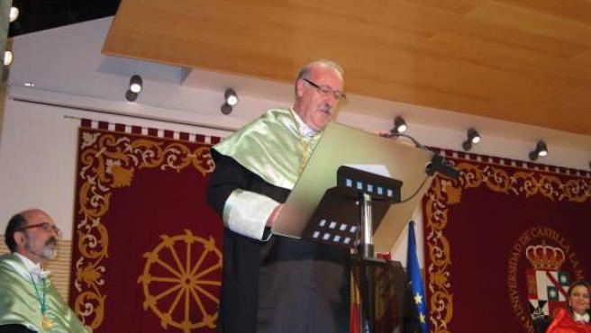 Del Bosque Doctro Honoris causa UCLM