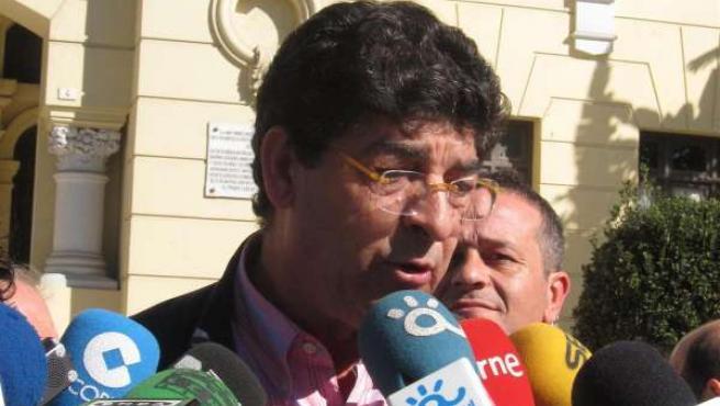 El coordinador de IU en Andalucía, Diego Valderas