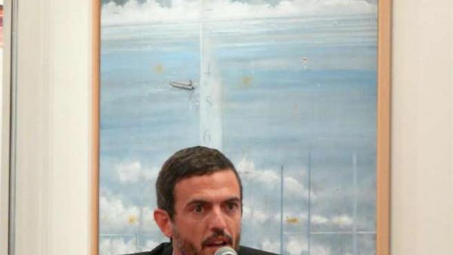 El gerente de la S.A. Xestión do Xacobeo 2010, Ignacio Santos