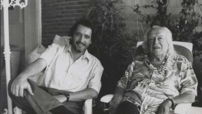 Enrique Llopis y Rafael Alberti