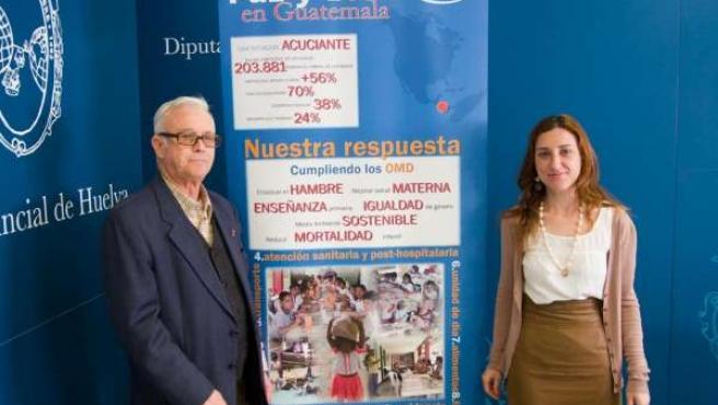 La diputada de Cooperación Internacional, Lola Herrera, en la presentación de la