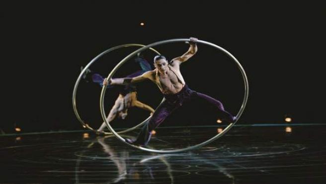 Una de las escenas de 'Corteo', el espectáculo del Circo del Sol que se estrena en España