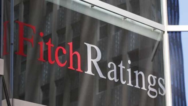 Imagen de la sede de la agencia de calificación Fitch en Nueva York.