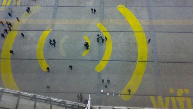 Una zona Wi-Fi.
