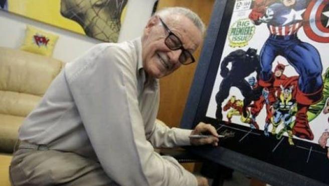 Stan Lee quiere salir en 'The Dark Knight Rises'