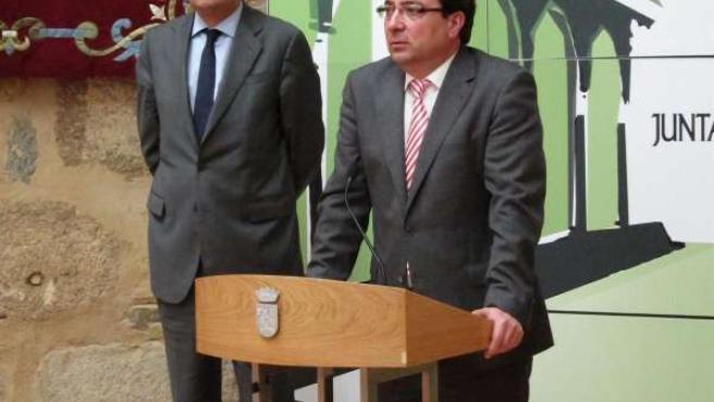 Fernández Vara y Óscar López