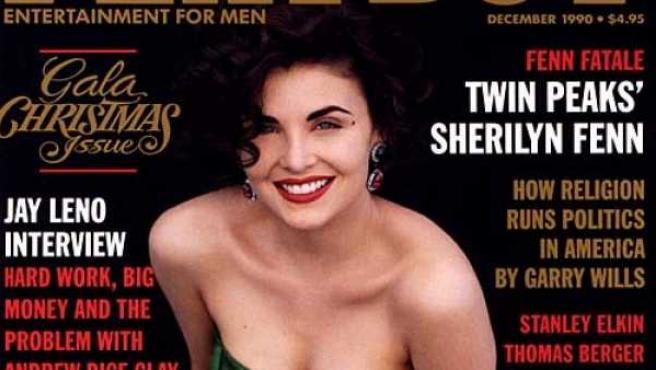 Las actrices de Twin Peaks se convirtieron de inmediato en símbolos sexuales. Meses después del estreno de la serie, Sherilyn Fenn apareció en la portada de Playboy.