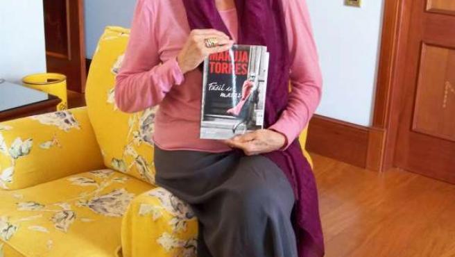 La escritora Maruja Torres