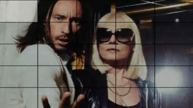 Un fotograma del nuevo videoclip protagonizado por Raffaela Carrá y Bob Sinclair.