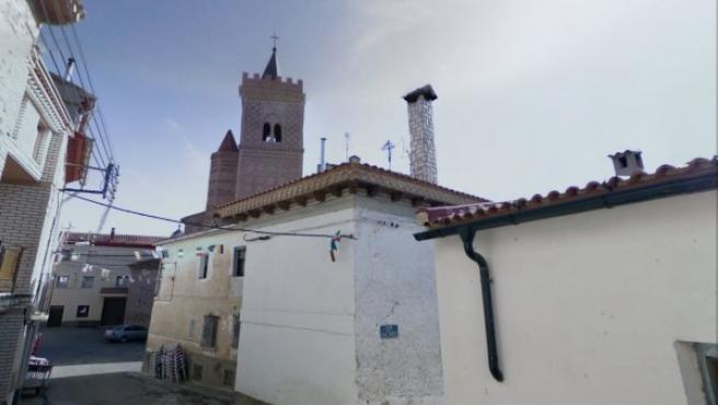 Una imagen de Villar de los Navarros, tomada de Google.