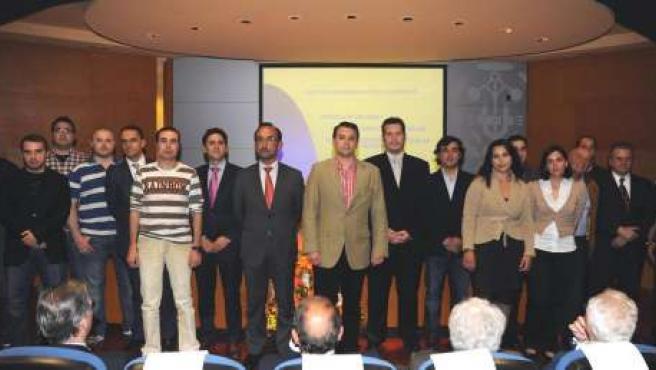El consejero Salvador Marín en el Colegio Oficial de Ingenieros Técnicos Industr