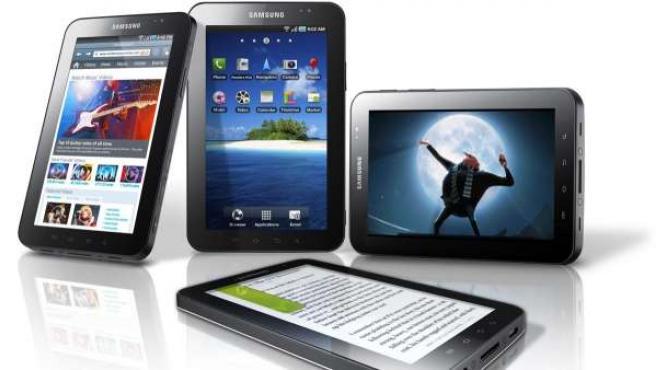 Galaxy Tab, la 'tablet' de Samsung.