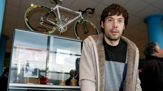 El ciclista cántabro Óscar Freire.
