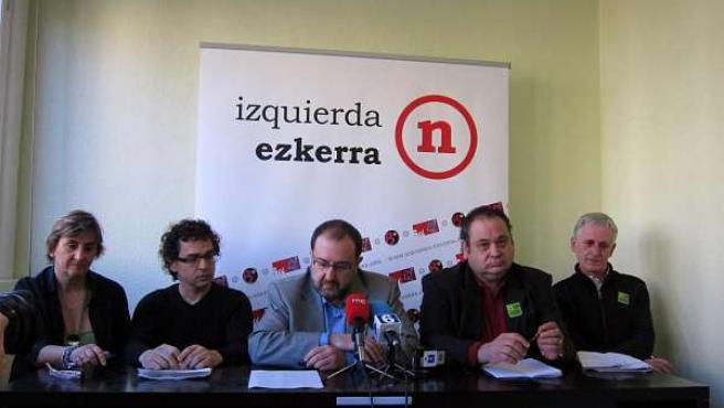 Marisa De Simón, Txema Mauleón, José Miguel Nuin, Jordi Dalmau, Y Roberto Pérez.