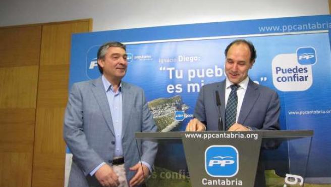 Diego Y El Candidato Del PP De Piélagos