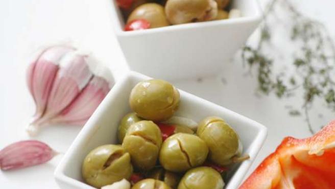 Aceitunas y olivas