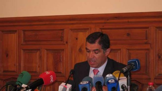 El Presidente Del TSJA, Lorenzo Del Río