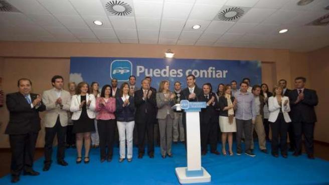 Cospedal Presenta Candidaturas En Guadalajara