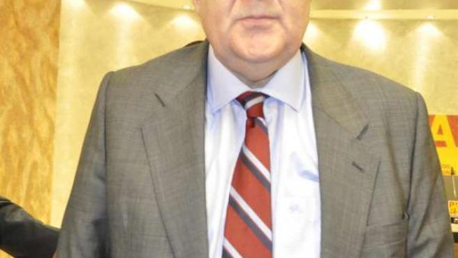 El Candidato Del PAR A La Presidencia Del Gobierno De Aragón, José Ángel Biel.