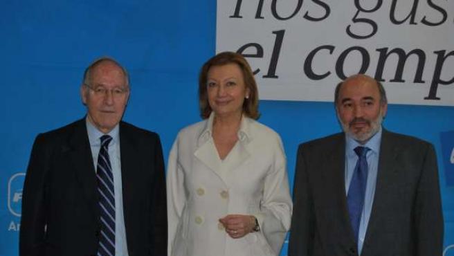 Luisa Fernanda Rudi Y Manuel Pizarro.