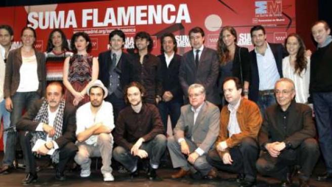 Algunos artistas que participan en Suma Flamenca