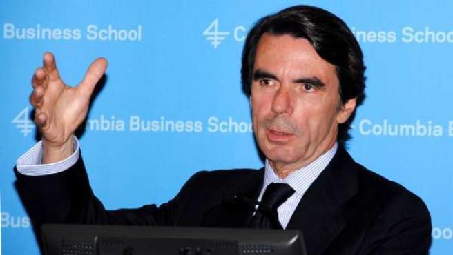 Aznar En La Universidad De Columbia