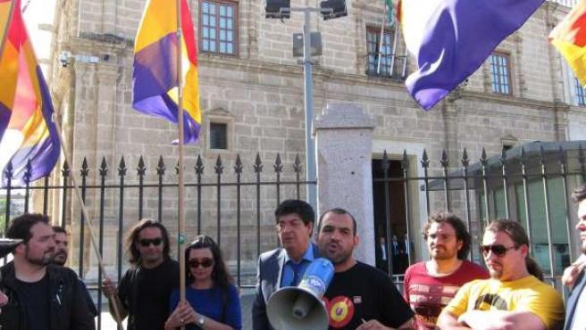 Diego Valderas Y José Manuel Mariscal