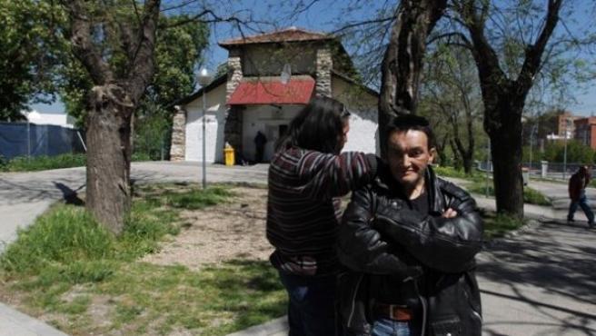 Goyo Torres y Valentín Rosendo, mendigos desde niños.