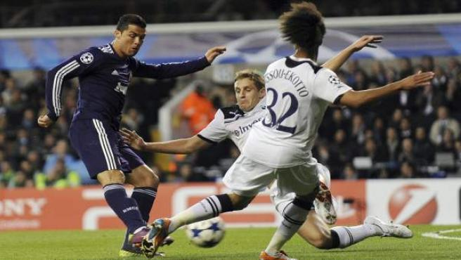 Cristiano Ronaldo Een White Hart Lane.