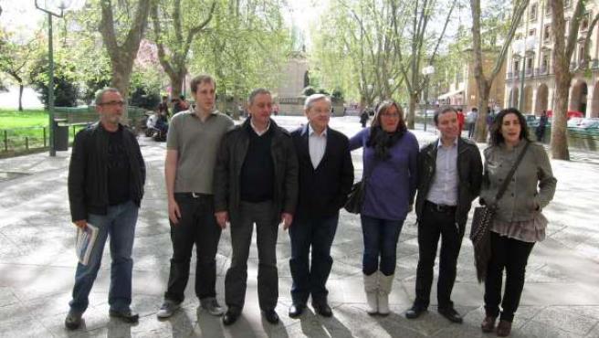 Candidatos De Nafarroa Bai 2011.