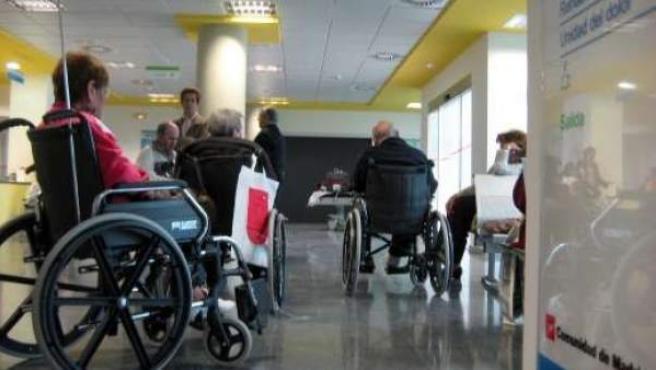 Interior del Hospital Puerta de Hierro de Majadahonda (Madrid).