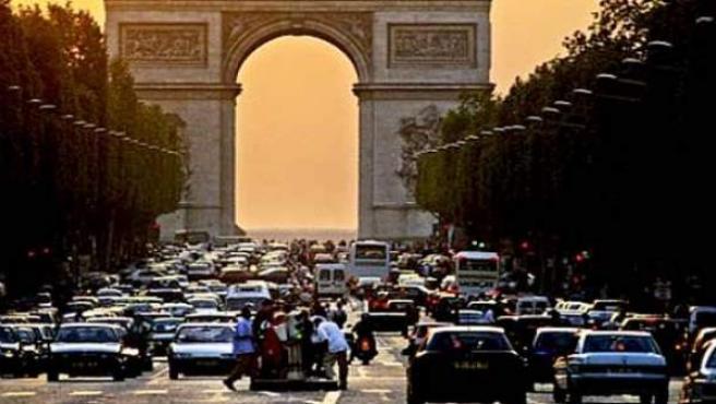 El Arco del Triunfo.
