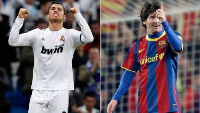 Ronaldo y Messi.