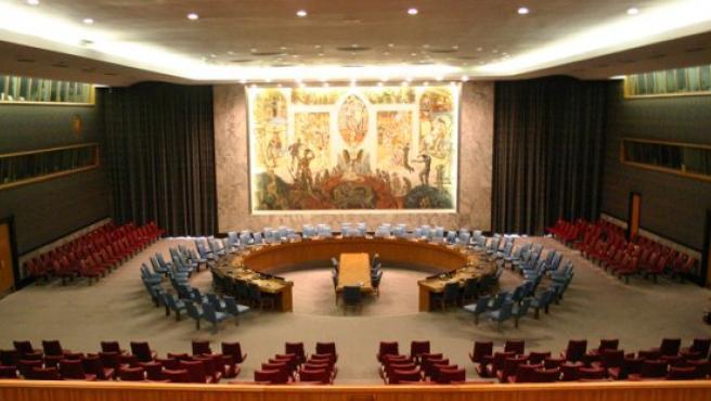 La sala del Consejo de Seguridad de la ONU.