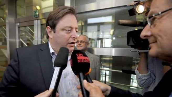 El presidente del partido nacionalista Nueva Alianza Flamenca (N-VA), Bart De Wever, que logró 27 de los 150 escaños de la Cámara federal en las elecciones de junio de 2010.
