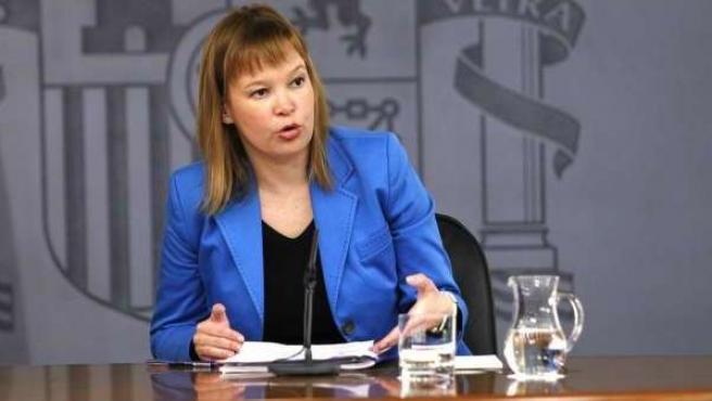 La ministra de Sanidad, Política Social e Igualdad, Leire Pajín.