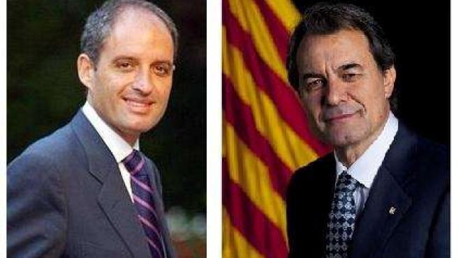Francisco Camps Y Artur Mas.